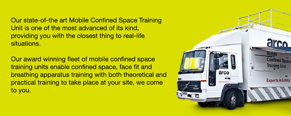 Our state-of-the art Mobile Confined Space Training Unit is one of the most advanced of its kind, providing you with the closest thing to real-life situations.